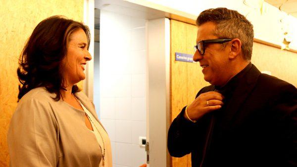 Conchita Martínez y Andreu Buenafuente