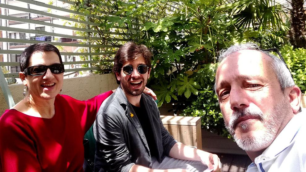 Lloll Bertran, Enric Cambray i Mia Font