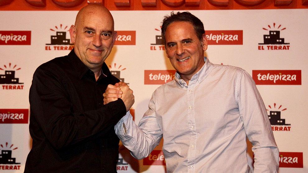 EL TERRAT y Telepizza