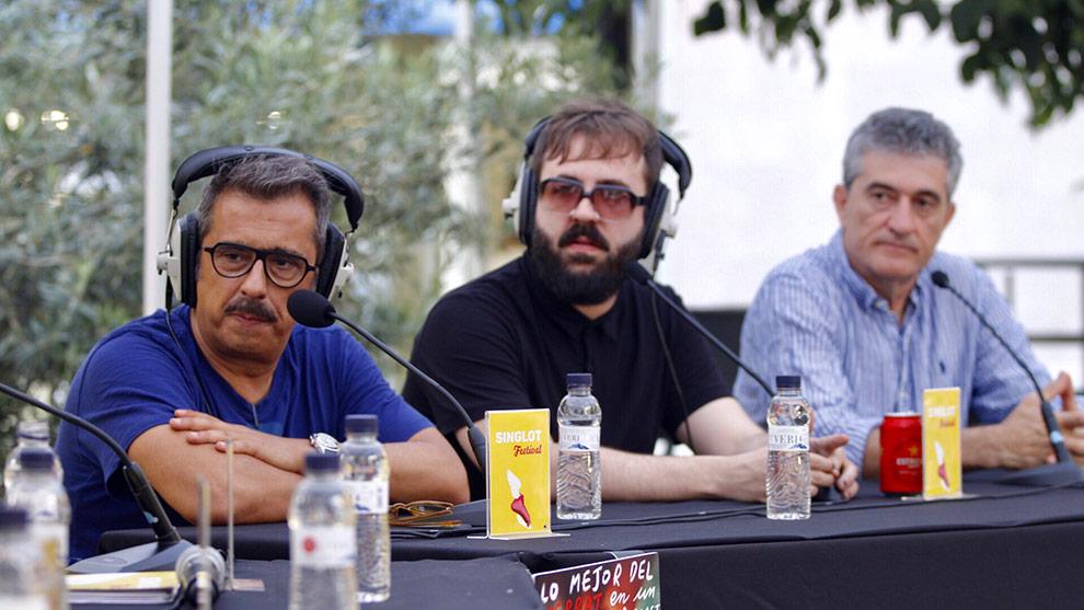 Andreu Buenafuente, Antonio Castelo y Guillermo Fesser