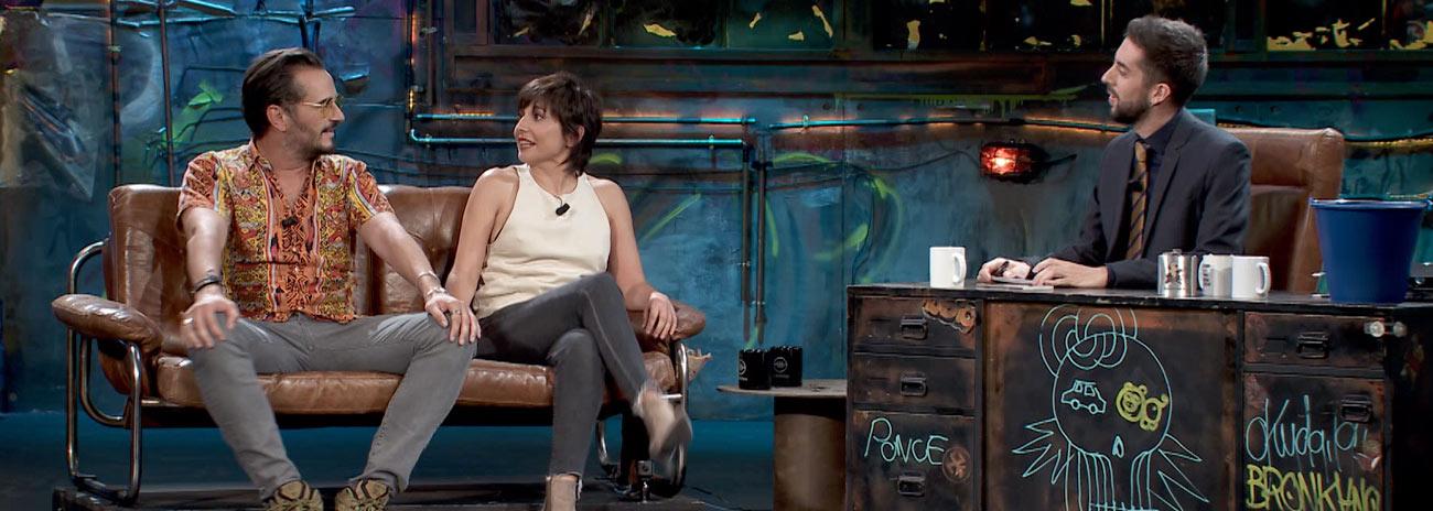 Un par de actores, Marian Álvarez y Asier Etxeandía