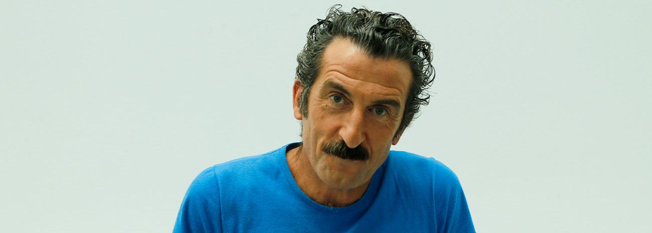 Luis Zahera exige hacer películas de morrear