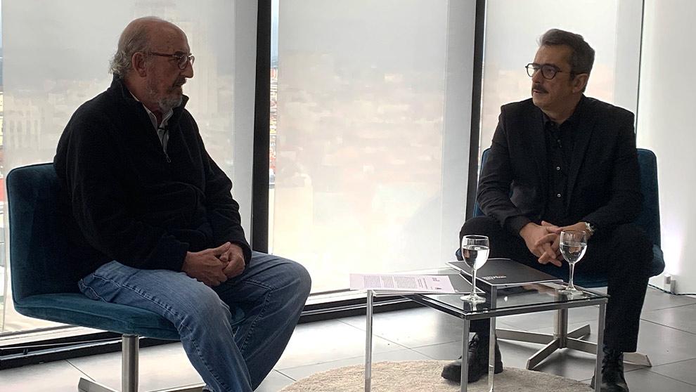 Jaume Roures y Andreu Buenafuente