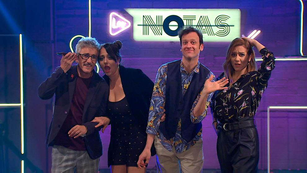 LOS NOTAS: Yolanda Ramos, Edu Soto, Henar Álvarez y David Fernández