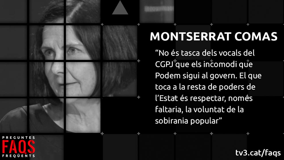 'Preguntes Freqüents': El judici a Trapero i l'entrevista a Manuela Carmena