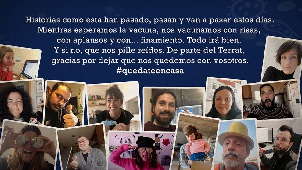 'CORONAVIDEOS: HISTORIAS CONFINADAS'