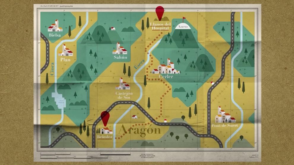 ENTRE OVEJAS - Mapa 1x02