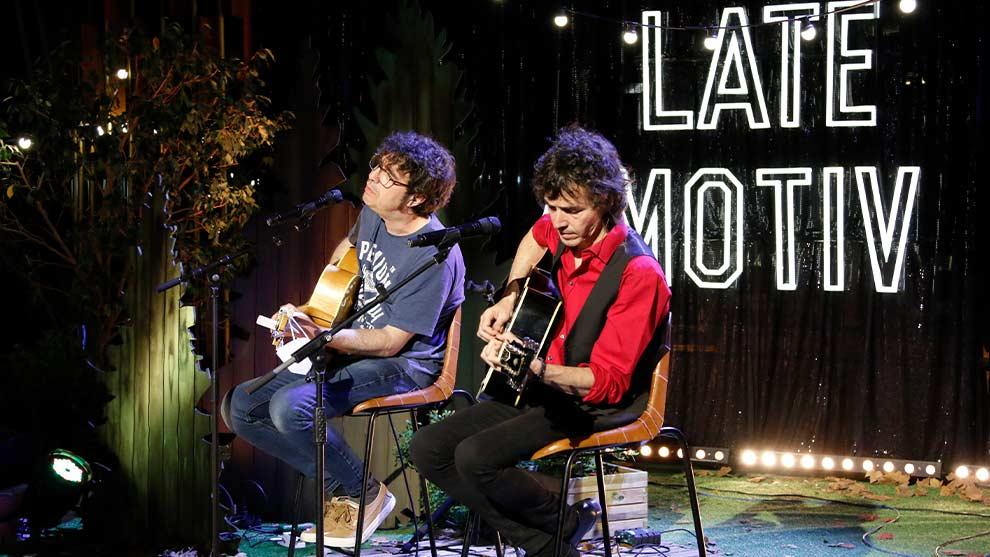 LATE MOTIV: Lichis y Rubén Pozo