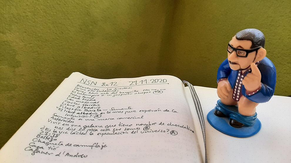 'Caganer' Andreu Buenafuente