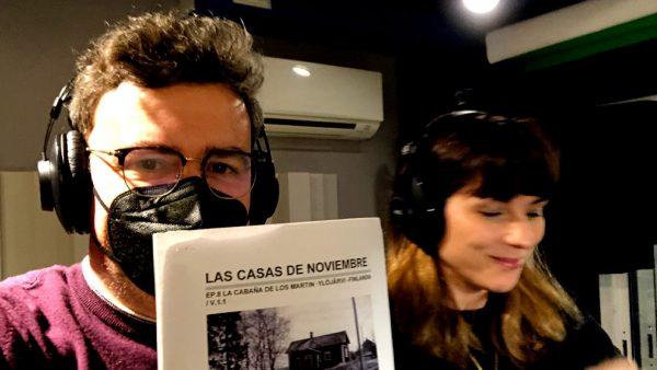 LAS CASAS DE NOVIEMBRE - Making of